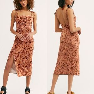 NWT Free People Show Stopper Midi Dress